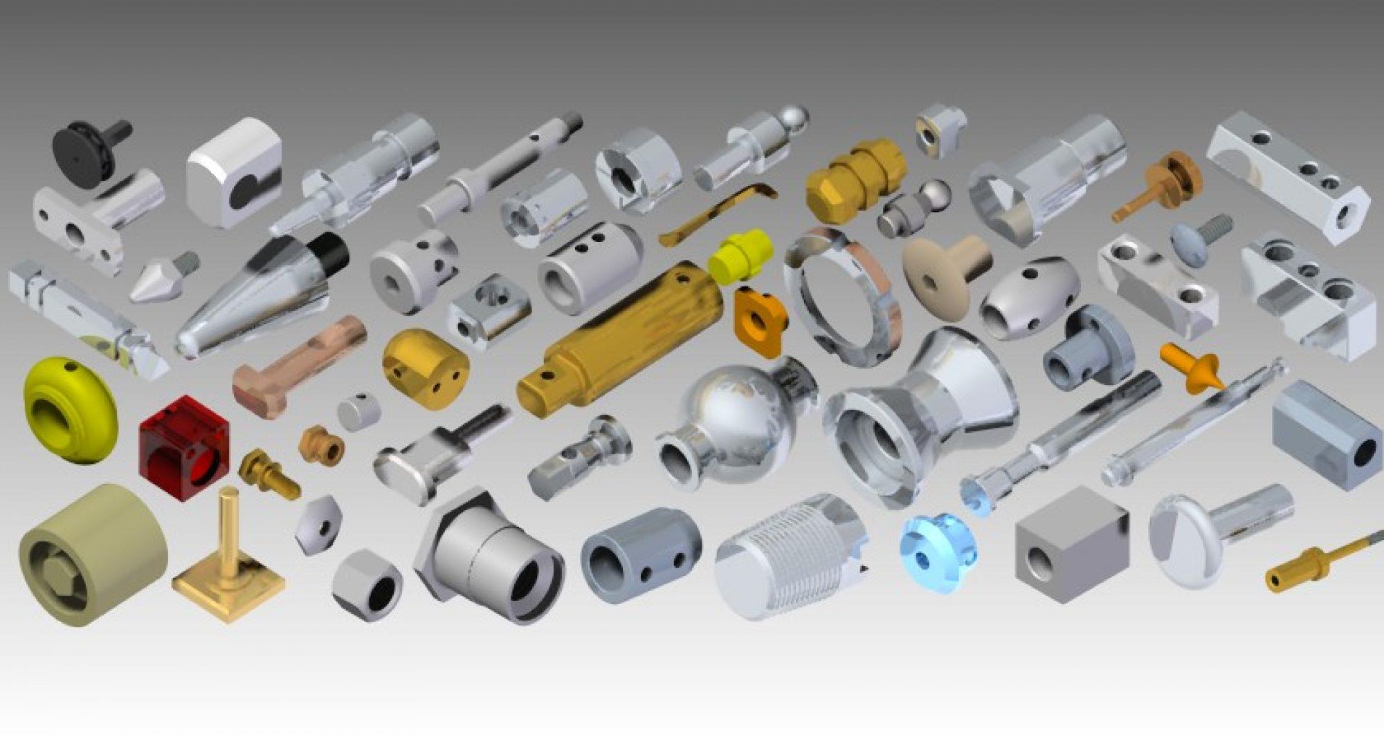 Mecanizado de piezas por decoletaje en 8 ejes